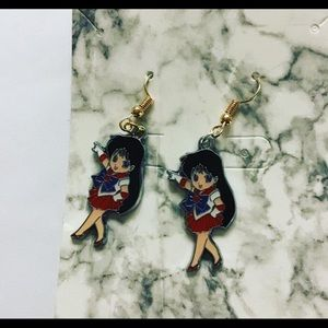 Sailor Mars earrings
